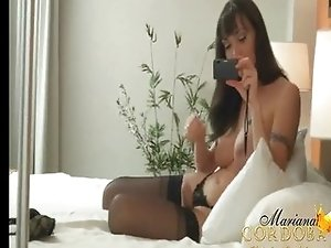 Mariana Cordoba hung shemale self shot video
