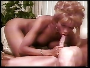 Hot TS blowing her guy