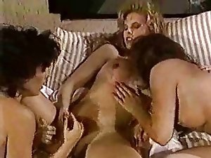 Vintage chicks share Tgirls cock